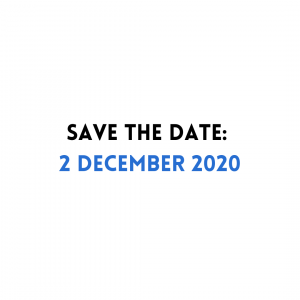 Save the Date: 2 December 2020