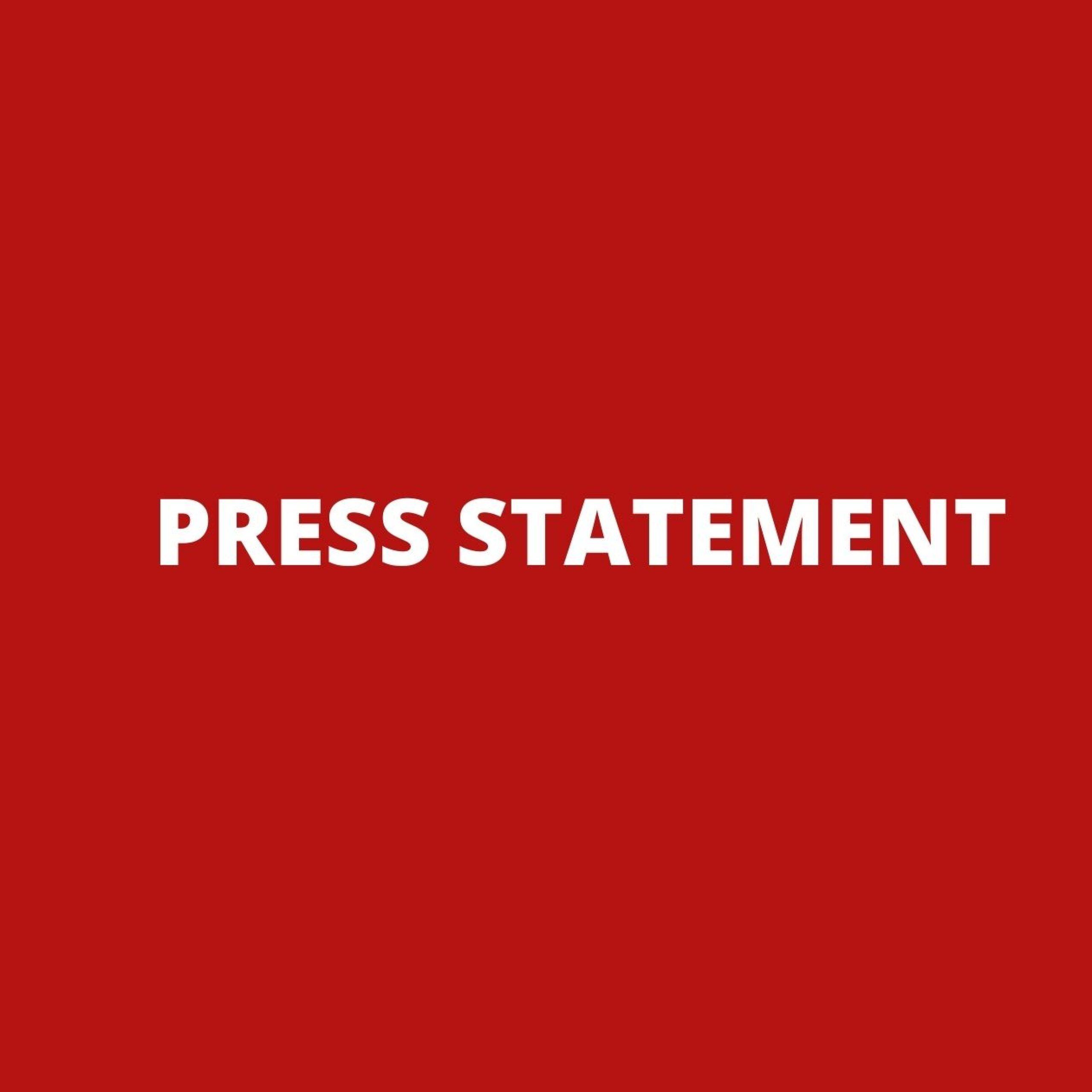 Press Statement – World Water Day 2021